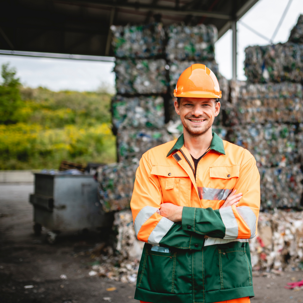 Waste management professional